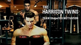 Bodybuilding Motivation by the Harrison Twins