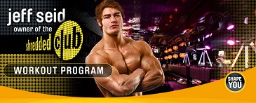 SHREDDED CLUB Jeff Seid