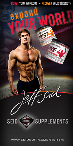 Jeff Seid's PRE Workout Booster