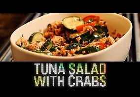 Shredded Club: Jeff Seid's Protein Tuna Salad With Crabs