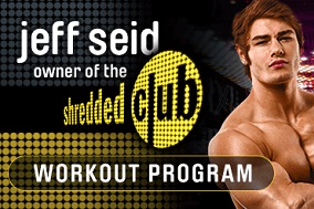 Shredded Club - Jeff Seid
