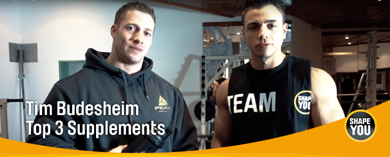 Tim Budesheim TOP 3 Supplements